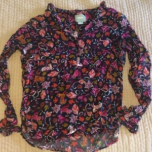Anthroplogie Maeve size 6 blouse
